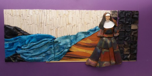 Mary MacKillop Mural  (Size: 3.6 x 1.5 meter)